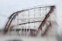 Coney Island Selective Focus - Cyclone