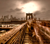 Brooklyn Bridge - long exposure in daylight