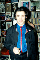Pete Shelley record signing - Bonaparte Records 12/5/81(?)