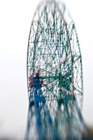Coney Island Selective Focus - Wonder Wheel