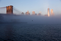 20140115 Extreme fog over the East River